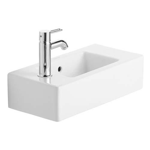 Litet Vägghängt Vitrinskåp ~ Vero tvättställ (litet)