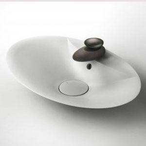 Equilibrio tvättställsblandare med metallhandtag