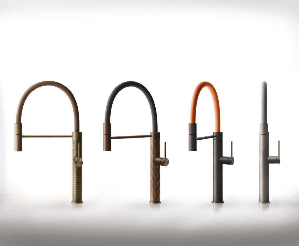 Koksblandare i serien 316 tillbehor slangar i olika farger