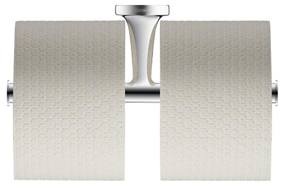 Duravit toalettpappershållare Starck T dubbel