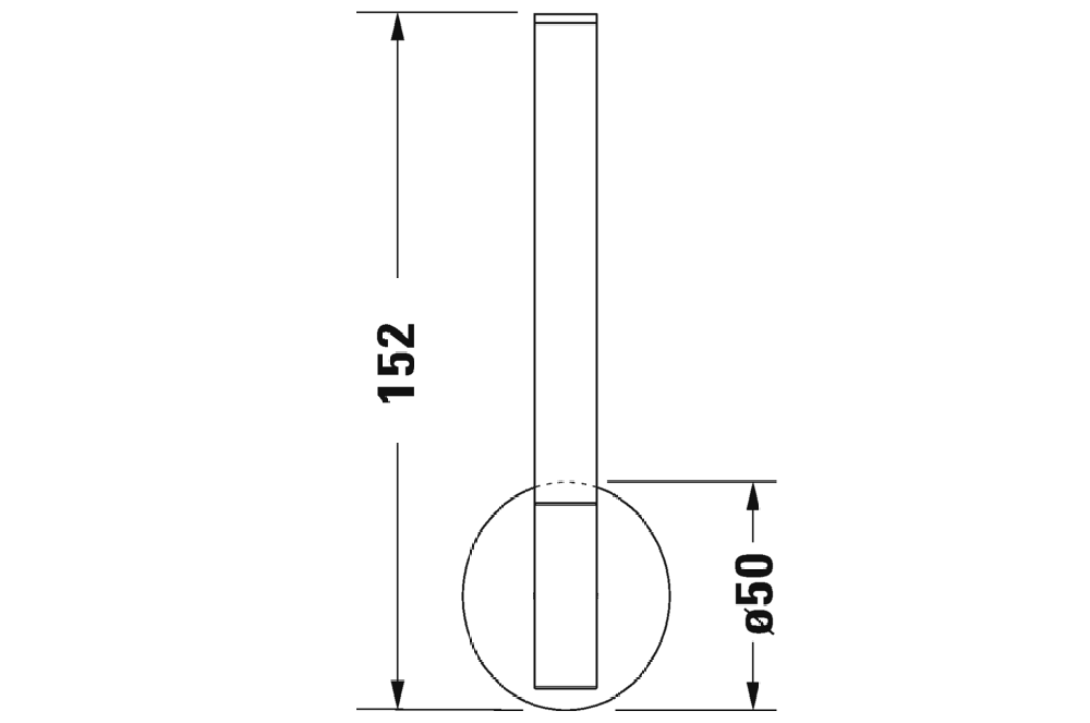 Duravit reservpappershållare