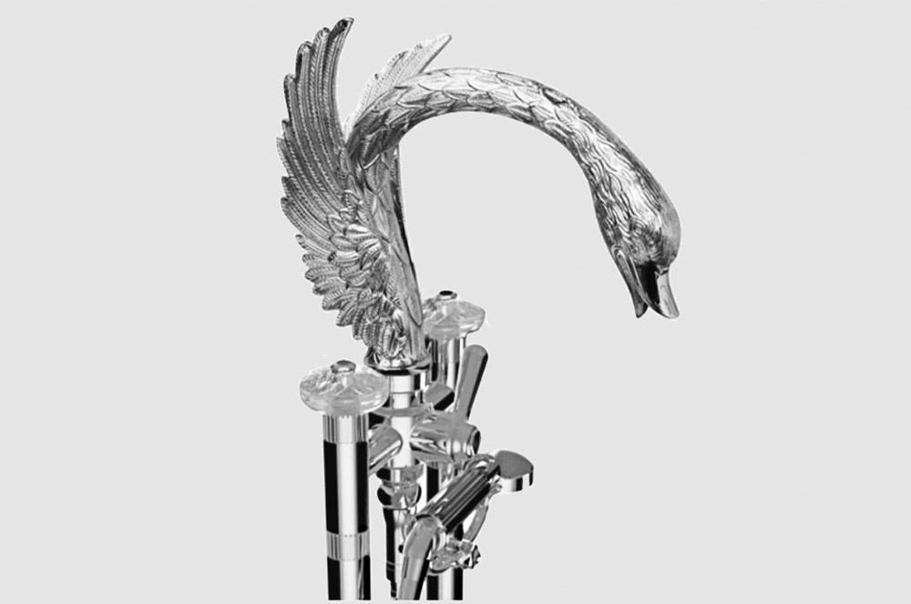 Swan badkarsblandare