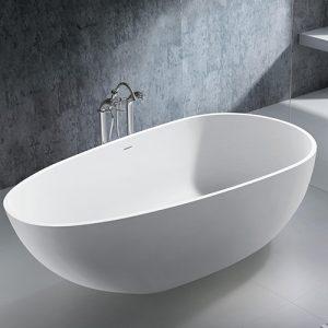 Smooth fristående badkar