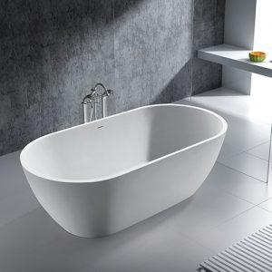Soft fristående badkar