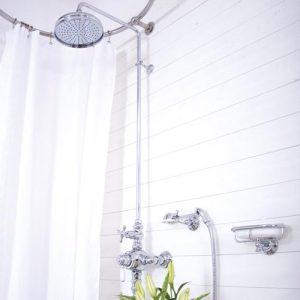 Utanpåliggande duschar